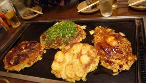 Okonomiyaki dan Pajeon