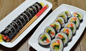 Sushi dan Kimbap