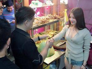 penjual kuliner jeroan